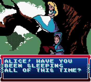 Disney's Alice in Wonderland GBC - 53
