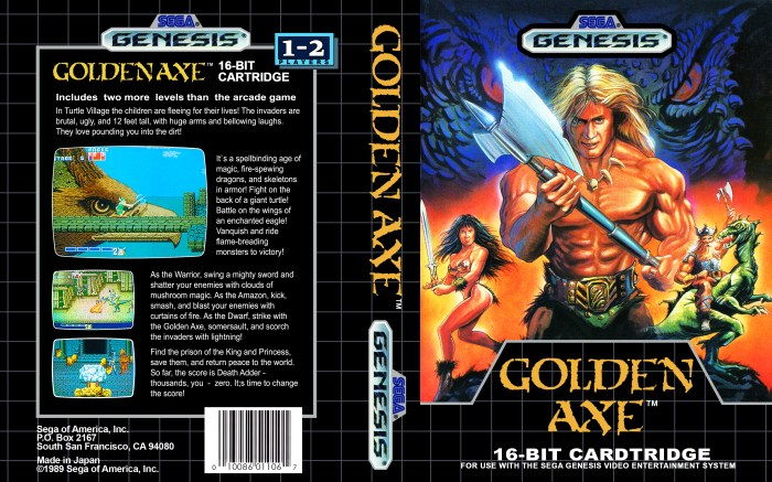 Golden Axe Cover