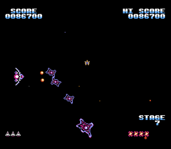 Gyruss (NES) - 13