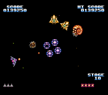 Gyruss (NES) - 16
