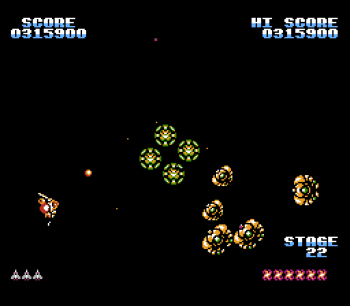 Gyruss (NES) - 33