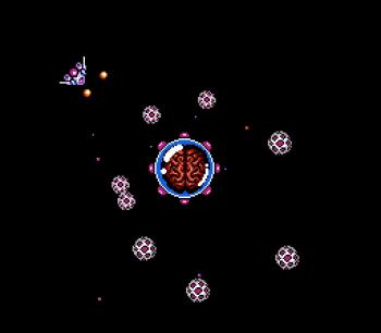 Gyruss (NES) - 50