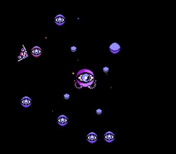 Gyruss (NES) - 60