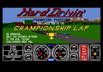 Hard Drivin' (Genesis) - 08