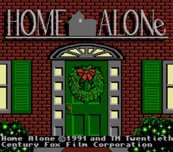 Home Alone NES - 01