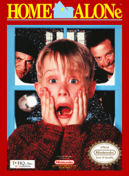 Home Alone NES Front Cover