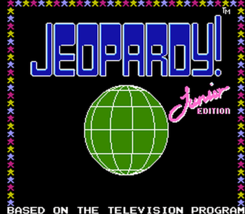 Jeopardy! Junior Edition (NES) - 01