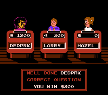 Jeopardy! Junior Edition (NES) - 02