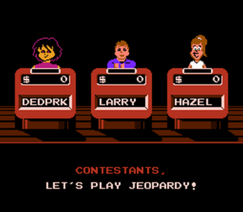 Jeopardy! Junior Edition (NES) - 05