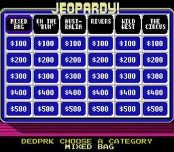 Jeopardy! Junior Edition (NES) - 06