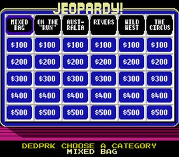 Jeopardy! Junior Edition (NES) - 06