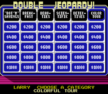 Jeopardy! Junior Edition (NES) - 11
