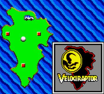Jurassic Park (Game Gear) - 03