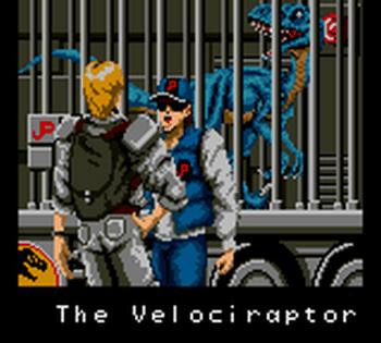 Jurassic Park (Game Gear) - 21