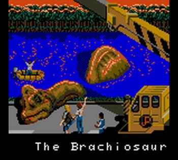 Jurassic Park (Game Gear) - 43