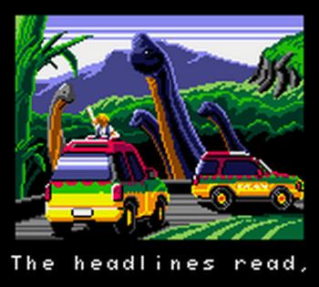Jurassic Park (Game Gear) - 66
