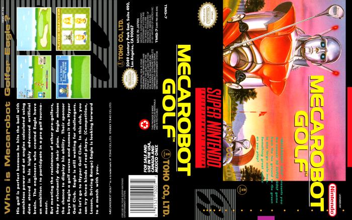 Mecarobot Golf Full Cover