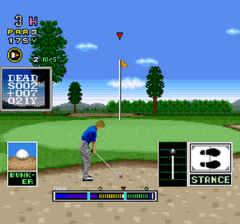 Mecarobot Golf (SNES) - 08