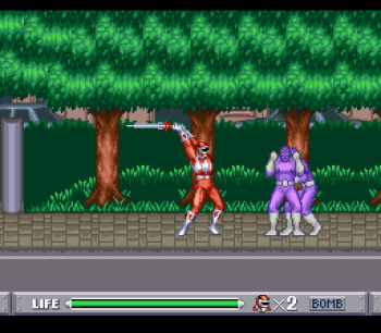 Mighty Morphin Power Rangers (SNES) - 08