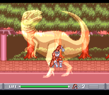 Mighty Morphin Power Rangers (SNES) - 09