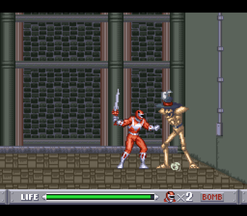 Mighty Morphin Power Rangers (SNES) - 15