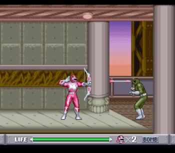 Mighty Morphin Power Rangers (SNES) - 45
