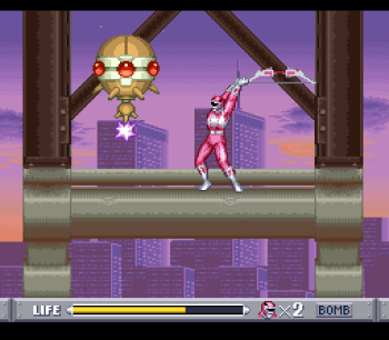 Mighty Morphin Power Rangers (SNES) - 49