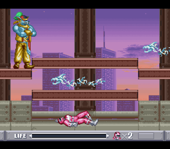Mighty Morphin Power Rangers (SNES) - 52