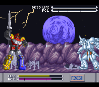Mighty Morphin Power Rangers (SNES) - 71