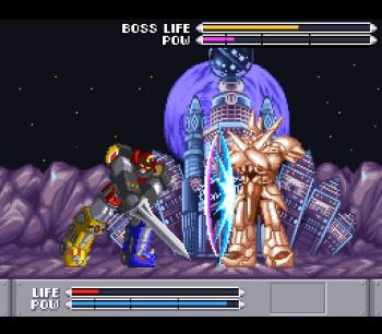 Mighty Morphin Power Rangers (SNES) - 73