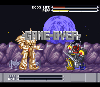 Mighty Morphin Power Rangers (SNES) - 76