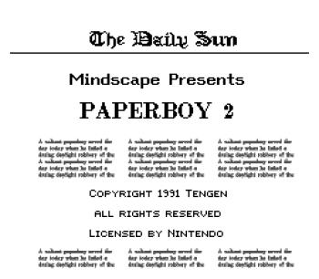 Paperboy 2 - 02