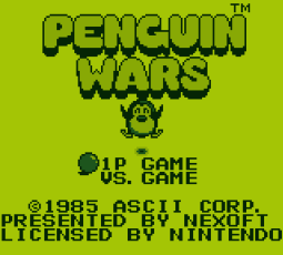Penguin Wars Gameboy - 01