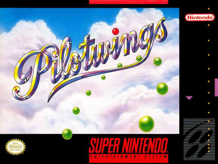 Pilotwings (SNES) - Front Cover