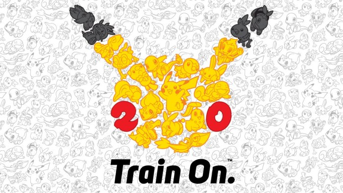 Pokemon 20th