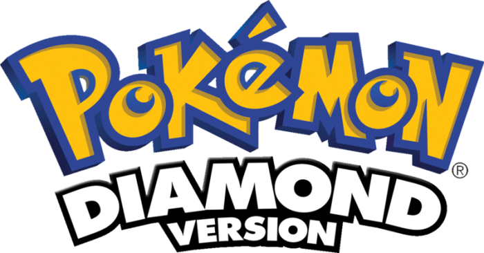 Pokemon Diamond Logo
