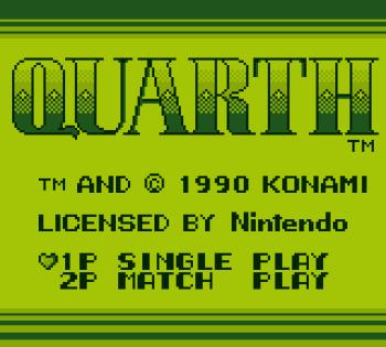 Quarth (Gameboy) - 01