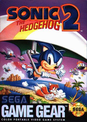 Sonic 2 Game Gear Cover