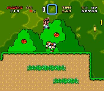 Super Mario World (SNES) - 015