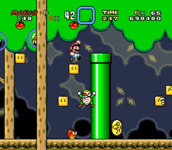 Super Mario World (SNES) - 084
