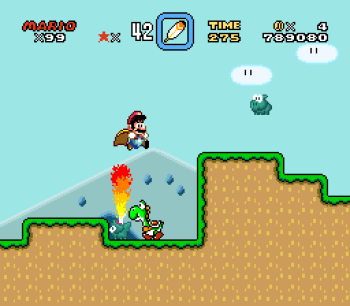 Super Mario World (SNES) - 096