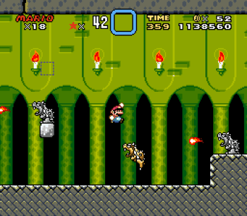 Super Mario World (SNES) - 155
