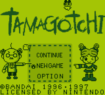 Tamagotchi (Gameboy) - 01