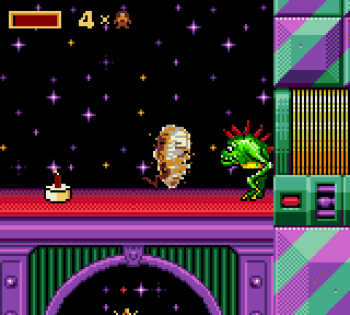 Taz in Escape From Mars (Game Gear) - 07