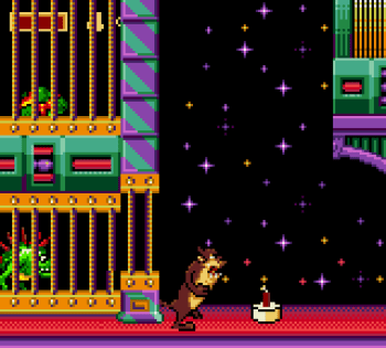 Taz in Escape From Mars (Game Gear) - 10