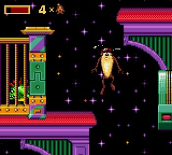 Taz in Escape From Mars (Game Gear) - 12