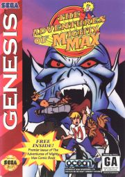 The Adventures of Mighty Max (Genesis) - Front Cover