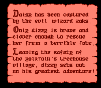 The Fantastic Adventures of Dizzy (NES) - 02