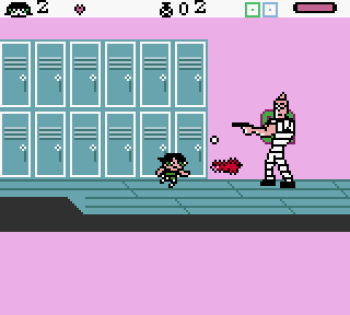 The Powerpuff Girls - Paint the Townsville Green (Gameboy Color) - 08