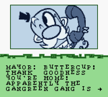 The Powerpuff Girls - Paint the Townsville Green (Gameboy Color) - 16